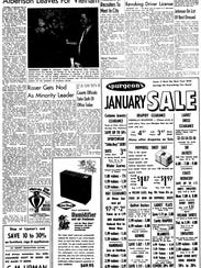An article from the Jan. 3, 1967 edition of the Stevens