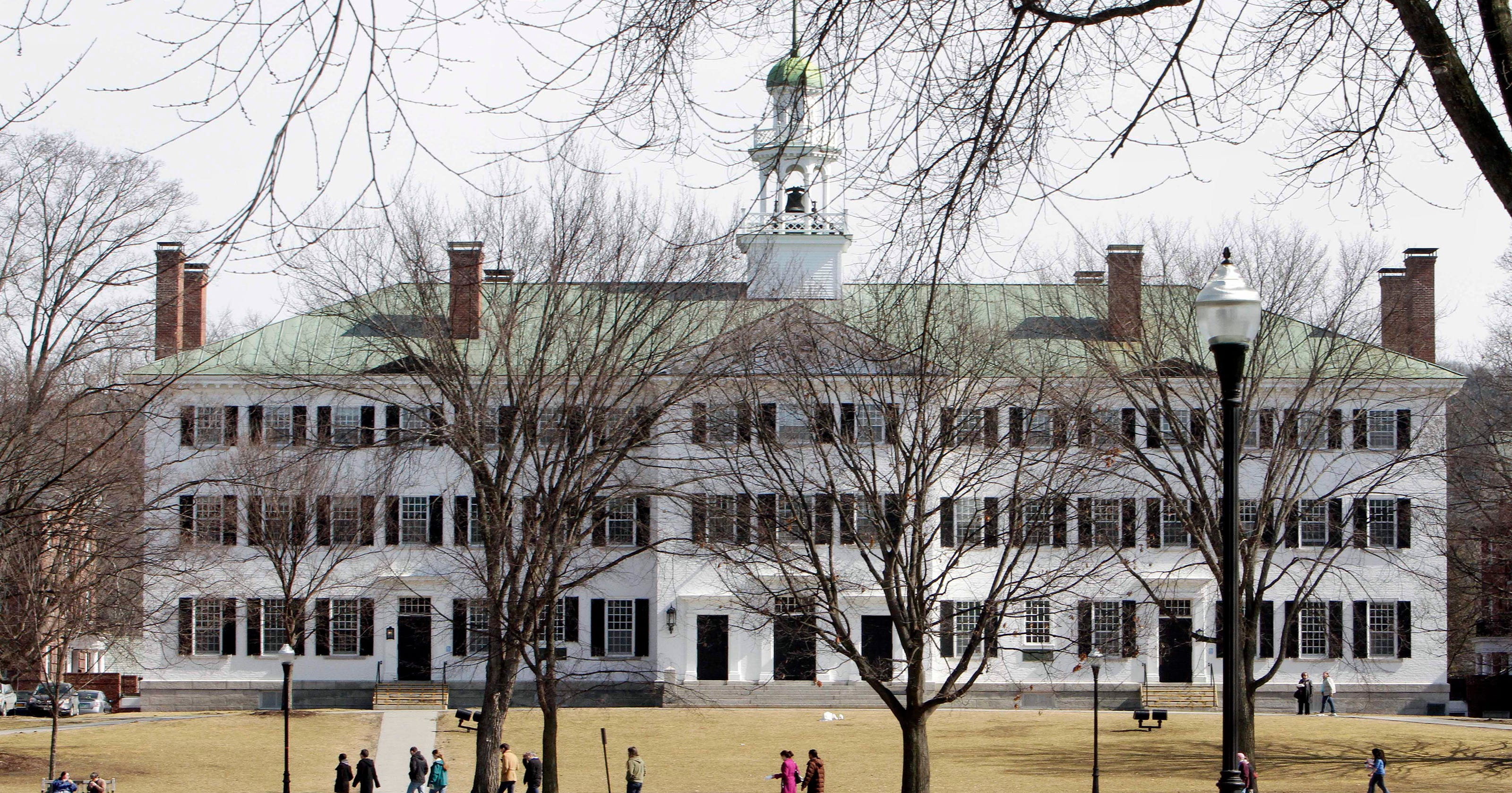 3 Dartmouth faculty suspended over sexual misconduct allegations