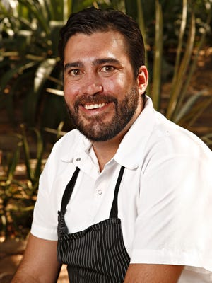 Chef Matt Taylor of Gertrude's at Desert Botanical Garden in Phoenix.