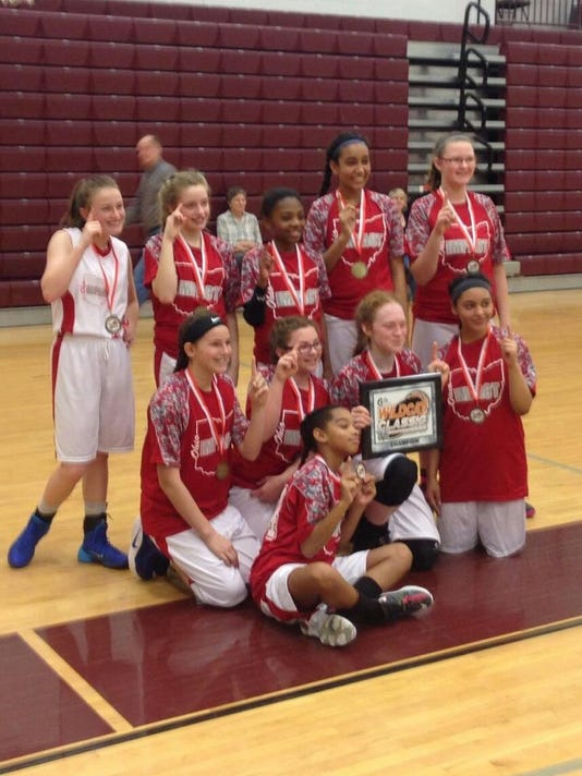 6th grade girls wildcat classic winners