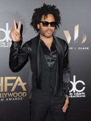 Lenny Kravitz comes in peace to the Hollywood Film