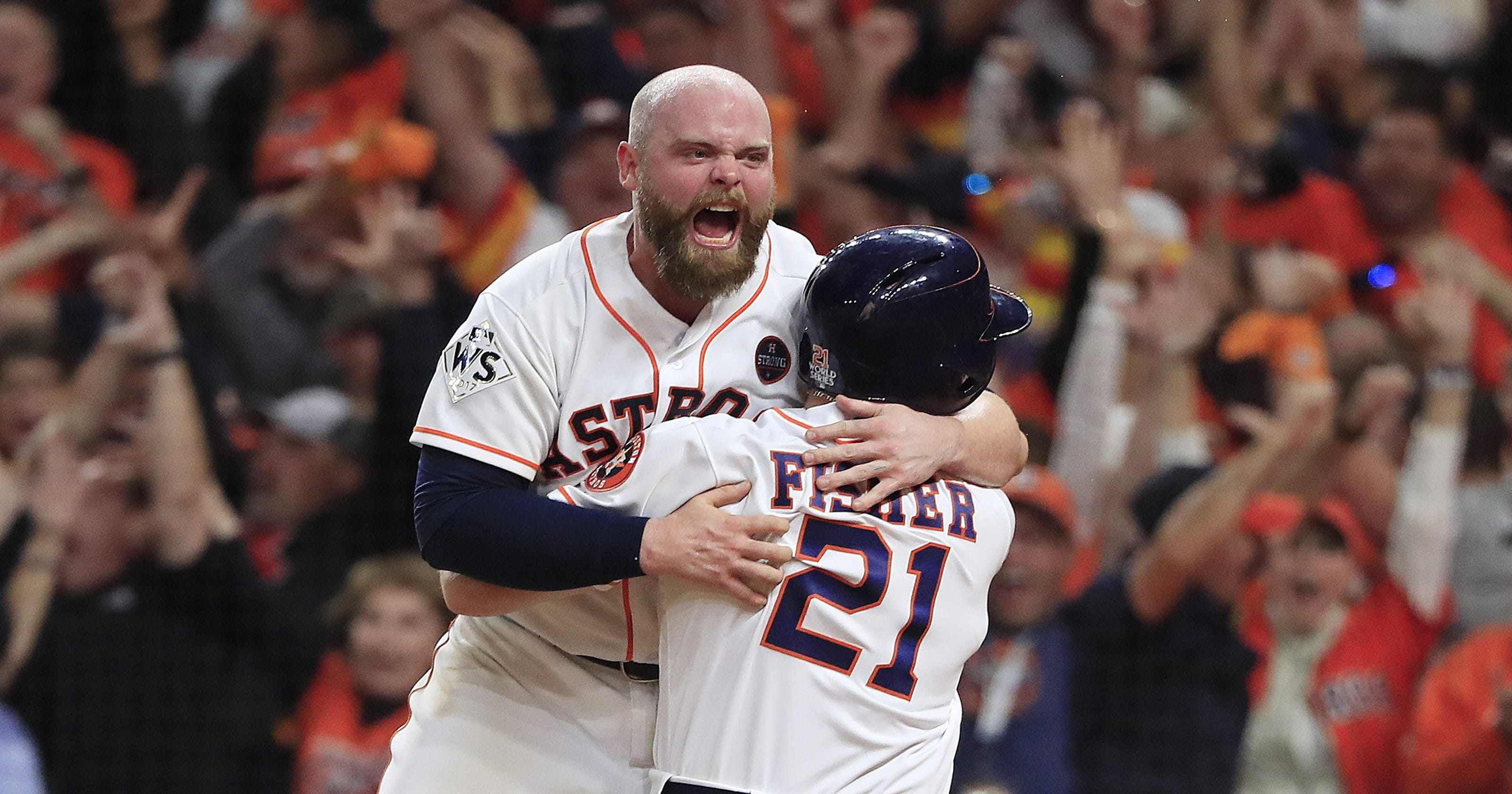 876a07b638b World Series  Astros walk off with crazy 13-12 win to take 3-2 lead over  Dodgers