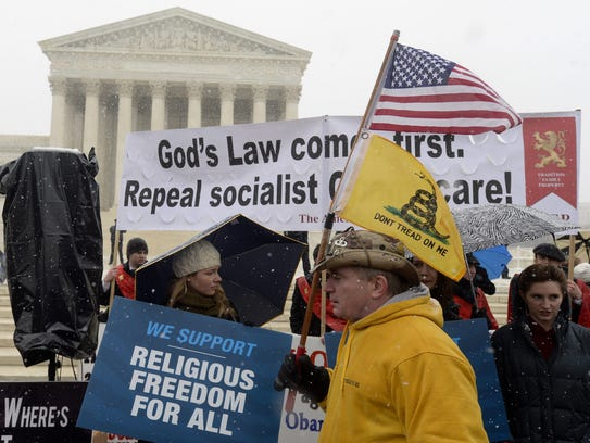 Opponents of the Obama administration's 'contraceptive