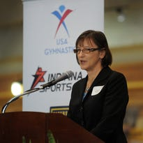 Allison Melangton, Indiana Sports Corp President, will speak at the Indiana Governor's Conference for Women.