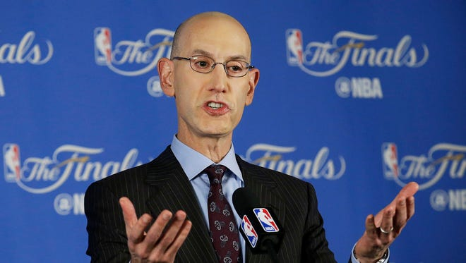 NBA commissioner Adam Silver says the league wants to get the All Star game to Charltotte.