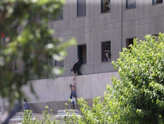 EPA IRAN PARLIAMENT TERROR ATTACK WAR ACTS OF TERROR IRA