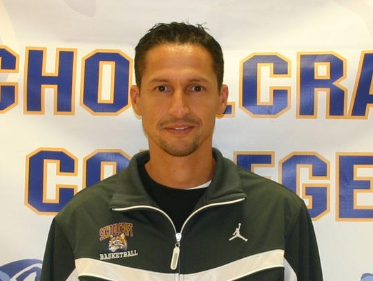 Schoolcraft College men's basketball coach Abe Mashhour