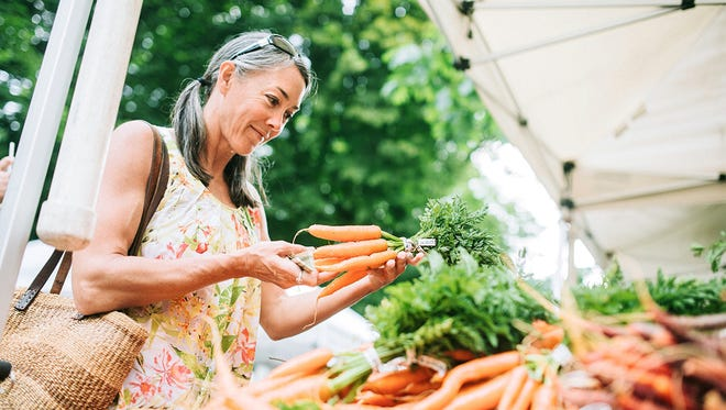 Buying from a farmers market means fresher, more nutritious meals for your family while also promoting community and supporting area farmers.
