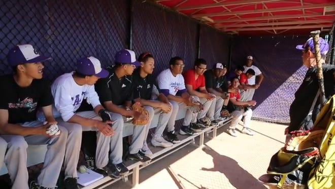 East High baseball team.