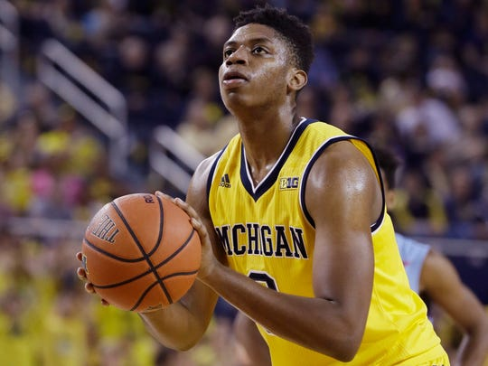 Michigan guard Kameron Chatman.
