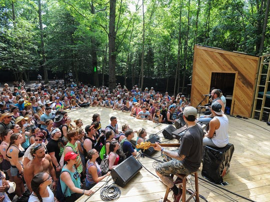 Firefly's Treeehouse Stage is a main stage for the first time this year, offering more performances and a new design.