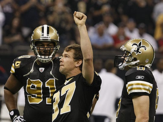 No. 50: Steve Gleason: He'll forever be remembered