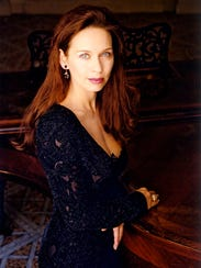 French soprano Anne-Sophie Schmidt, here in Paris in an undated photo, has accused conductor Charle Dutoit of sexually harassing her.