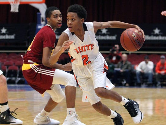 Sophomore Eisaiah Murphy, who is now White Plains' leading scorer, made a strong debut at the County Center against Cardinal Hayes in last year's Slam Dunk Tournament.