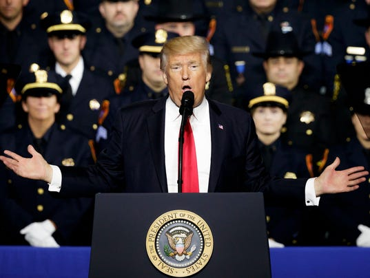 Trump encourages police to abuse people they arrest