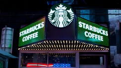 A Starbucks Coffee shop is shown, Thursday, March 19,