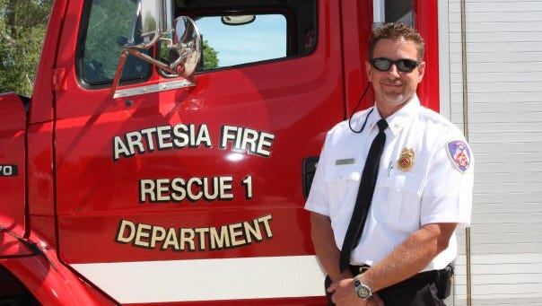 Kevin Hope, Eddy County's new fire services director and fire marshal.