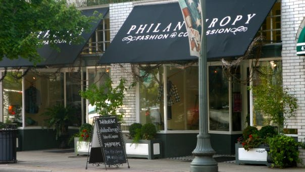 Philanthropy boutique in Franklin pledges a minimum of 10 percent of its proceeds to various charities.