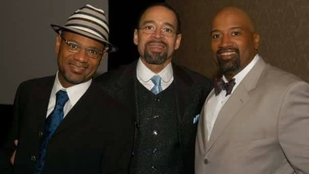 The Whalum brothers (from left): Kirk, Kenneth Jr. and Kevin.