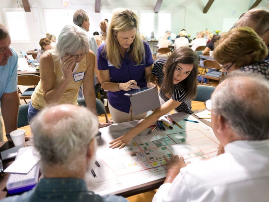 Vero Beach residents and members of the Cultural Arts