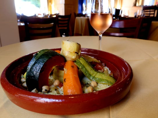 Vegetable Cous Cous at Argana, a Moroccan restaurant