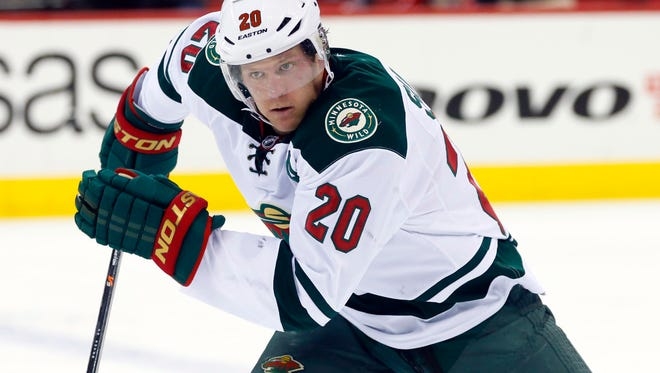 Minnesota Wild defensemen Ryan Suter leads NHL skaters in average ice time at 29 minutes, 37 seconds.