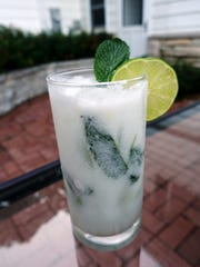 Coconut Milk Mojito is minty and refreshing.