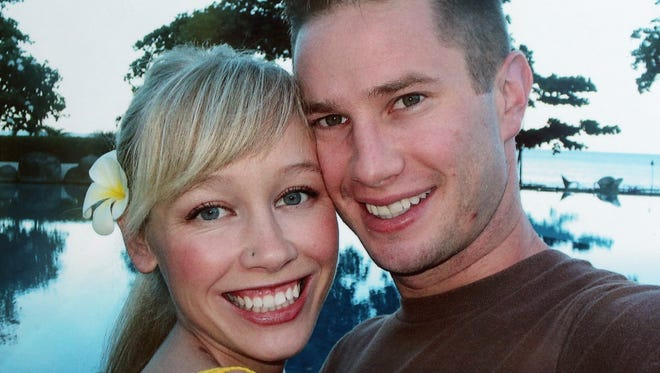 Sherri Papini, 34, of Mountain Gate, Calif., didn't return home Nov. 2, 2016, after going jogging but was found Thanksgiving Day and has been reunited with her husband, Keith Papini, right.