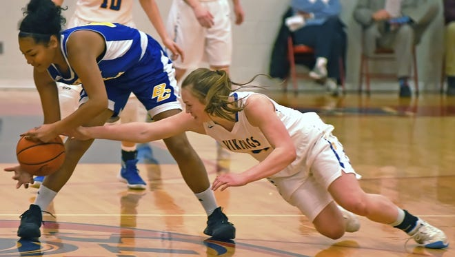 Maci Heimlich is a four-year starter for North White and a key component in its zone defense that has carried the Vikings to a fourth straight sectional title.