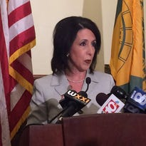 Dinolfo apologizes during press conference