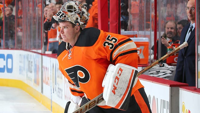 Steve Mason made his seventh consecutive start Wednesday night.