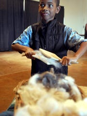 Kids in the Wool Creations summer camp will learn about the steps of processing wool, including  basic skills for carding, felting, spinning and weaving.