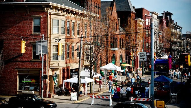 Go Green in the City, a street fair promoting healthy, local and green living, returns to downtown to York on April 23.