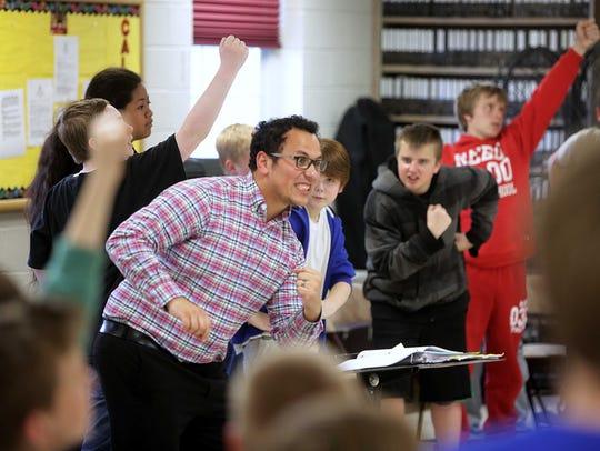 A year ago, the Boys Choir of Springfield gets ready
