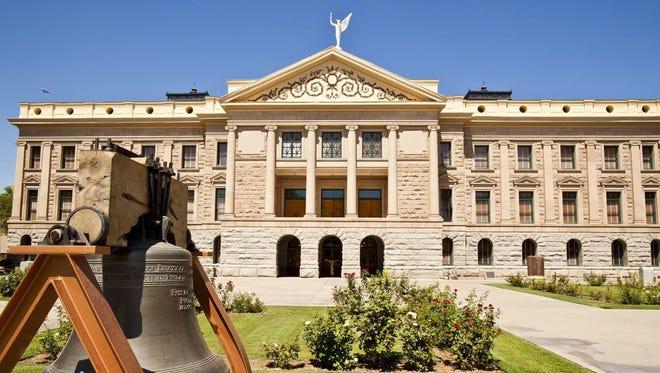 The Arizona Capitol Building in downtown Phoenix, Ariz.