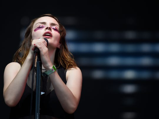 CHVRCHES singer Lauren Mayberry said she was groped when covered concerts as a music writer.