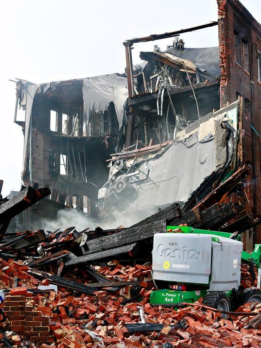 Weaver Piano Building fire