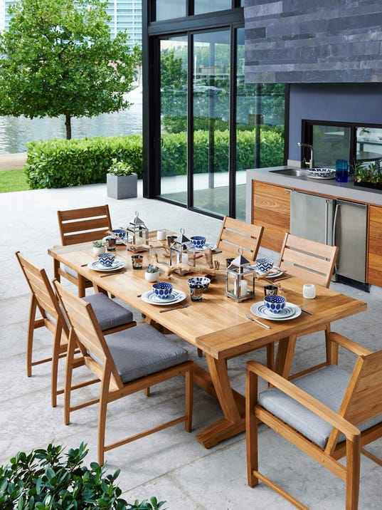 Cool summer ideas what 39 s hot in outdoor furniture - The hottest trends in patio decor ...