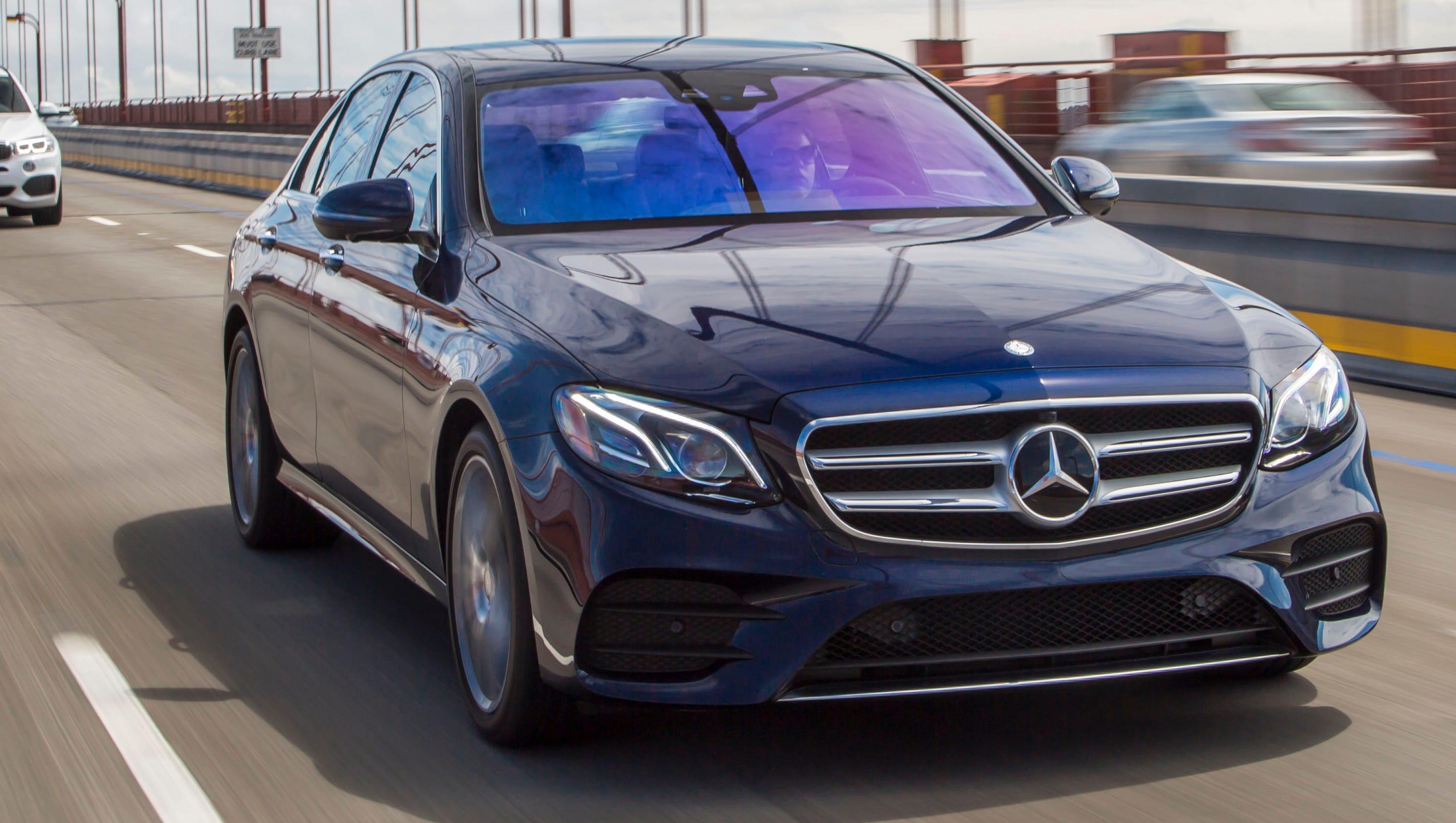 Review mercedes benz e class is a tech wonder for Mercedes benz techs