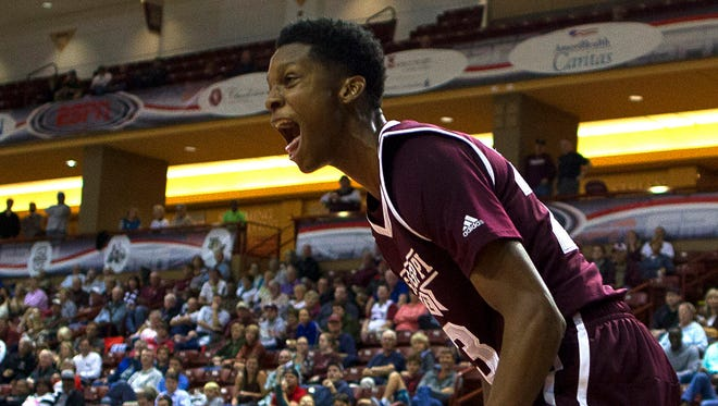 Tyson Carter helped Mississippi State with 15 points against Boise State on Friday.