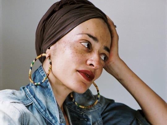 Author Zadie Smith.