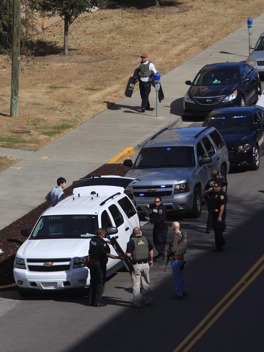 AP APTOPIX UNIVERSITY SHOOTING SOUTH CAROLINA A USA SC