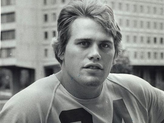 Mike Stensrud, DL, Lake Mills All-state pick in 1973.