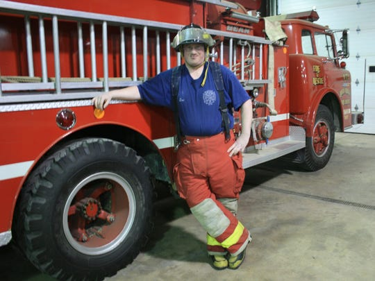 The late Carroll Township firefighter Daniel J. Lucius, who died last year while responding to an emergency, will be honored with the Ohio Fire Service Award on Wednesday.