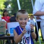 Kid'athlon competitor