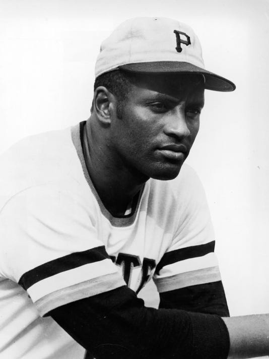 Portrait Of Roberto Clemente