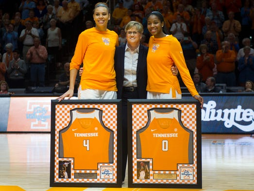 Tennessee Head Coach Holly Warlick poses for a photo