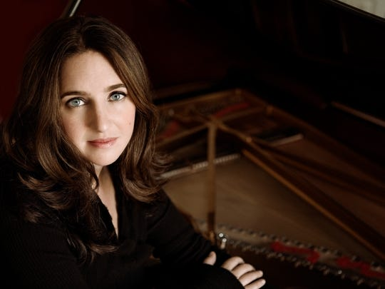 Pianist Simone Dinnerstein performs Friday at the University of Vermont.