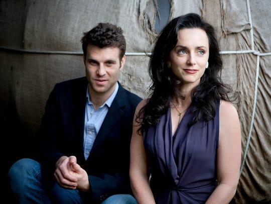 Eben Pariser and Molly Venter of Goodnight Moonshine