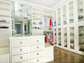 The master closet at 235 Jasmine Point in Salem. Listed